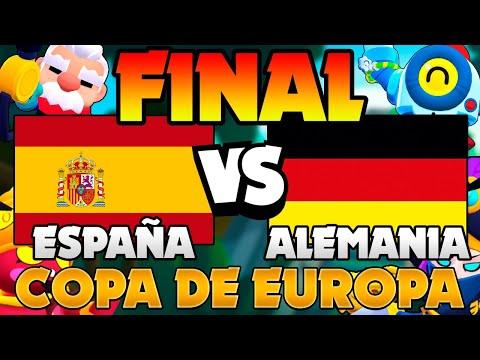 LA FINAL DE LA COPA EUROPEA ESPAÑA VS ALEMANIA EN DIRECTO Con GuilleVGX, IKaoss, AlbertCG, Muniiz...