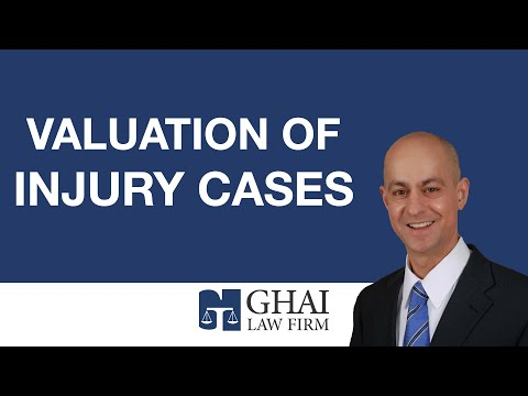 Valuation of Injury Cases