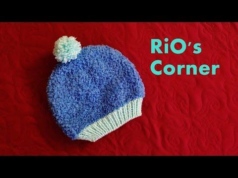 [Knitting] Hướng dẫn đan mũ len xù cho bé 2 - 3 tuổi
