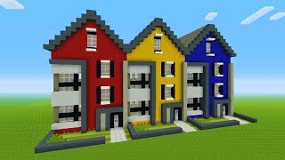Minecraft Tutorial: How To Make A Modern Town House