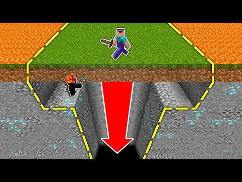GIANT FLOOR HOLE TRAP! (IT WORKED!) - Minecraft Trolling