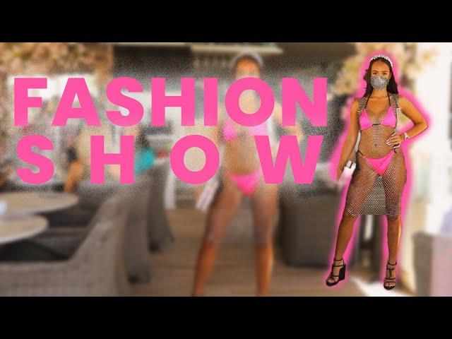 Marbella Fashion Show by Qué Sera - Adel Angel Clothing & Crystallised by Lala