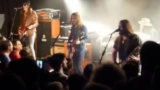 """BLACKBERRY SMOKE Présentation Band """" Up in smoke """" Concert à la MAROQUINERIE à PARIS 25 03 2017"""