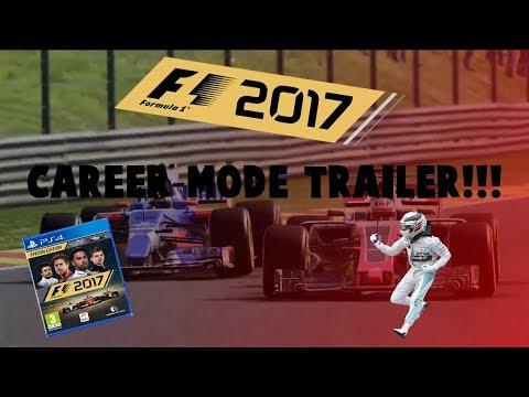 F1 2017 GAME CAREER MODE TRAILER!!!