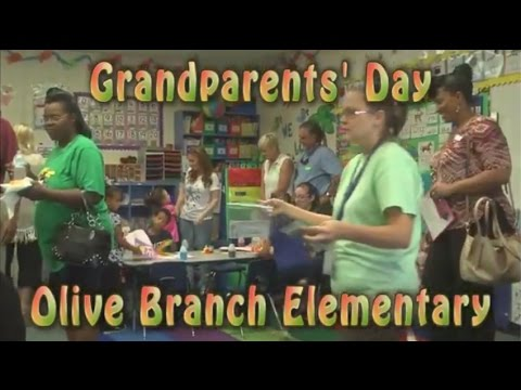 Grandparents' Day at Olive Branch Elementary School