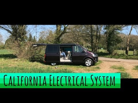 VW California Ocean T6 Electrical System