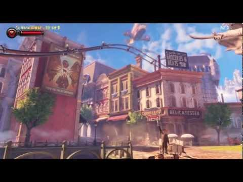 "Bioshock Infinite Booker DeWitt ""Path of Forgiveness, City of Columbia"" Story Part 1 [no commentary]"
