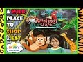 Rainforest Cafe Family Fun Theme Restaurant Animals Amusement Ride Toys for Kids Ryan ToysReview