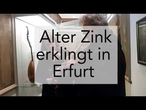 Instrument aus dem 17. Jahrhundert erklingt im Erfurter Angermuseum