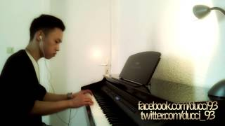 Lil Rain - Adore You (piano cover by Ducci, HD, download, lyrics)