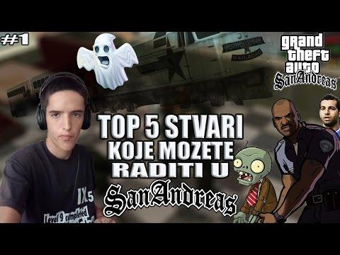 TOP 5 STVARI KOJE MOZETE RADITI U SAN ANDREASU! #1