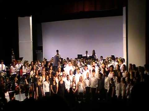2013 Cranston High School West Music Dept. Spring Concert -- Grand Finale