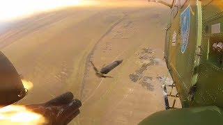 Trageri în poligon - Escadrila 952 Elicoptere SOCAT