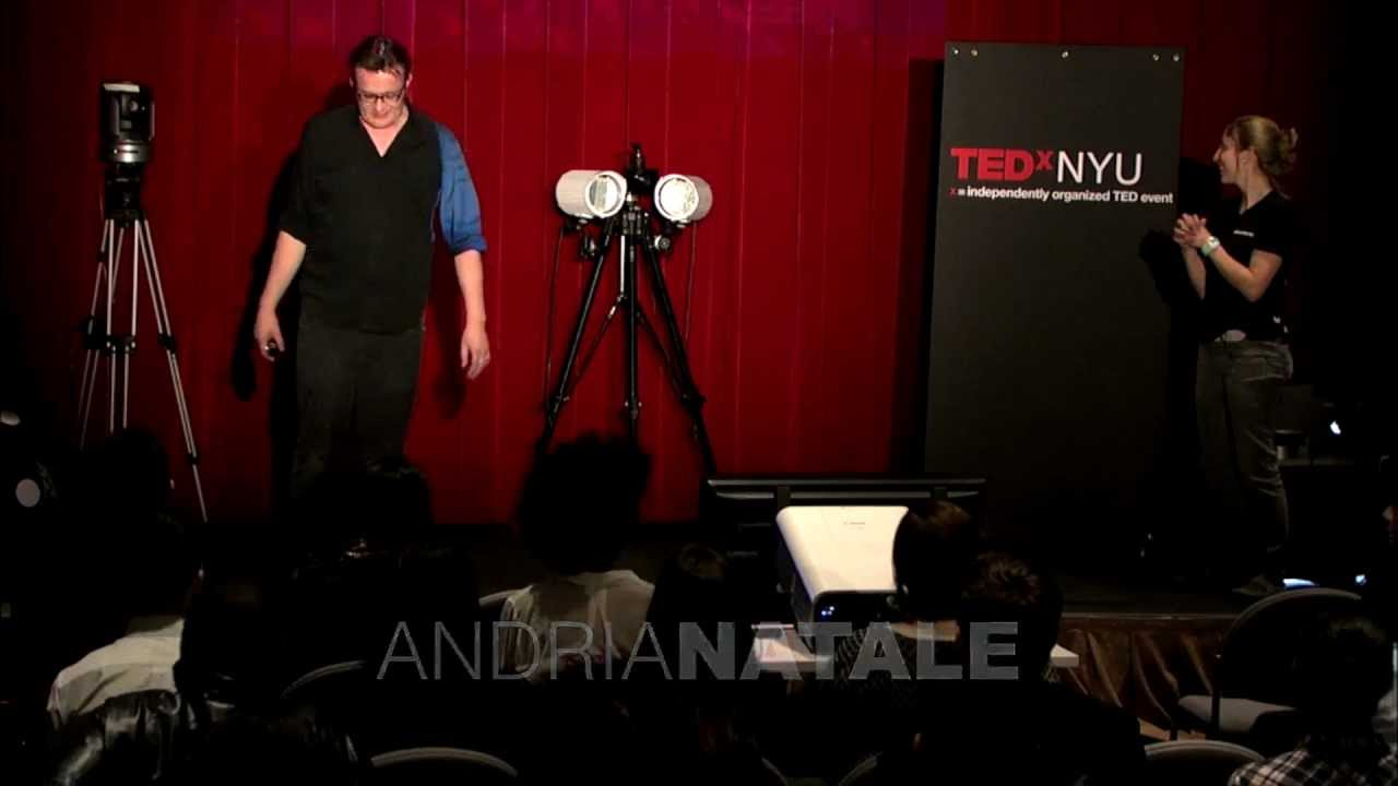 TEDxNYU - Chris Bregler - New Frontiers in Human Motion, Crowds, and Gaming