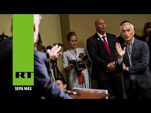 Donald Trump expulsa a un periodista de Univisión de una ...