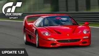 Gran Turismo Sport | Ferrari F50 Gameplay (Update 1.31)