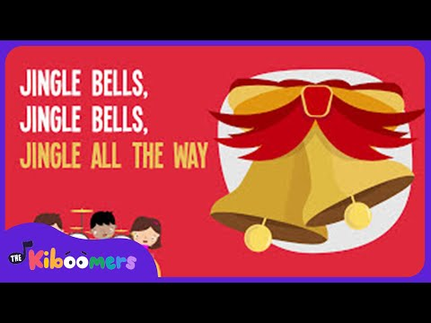 Jingle Bells | Kids Christmas Songs | Lyrics | Jingle Bell Opposites