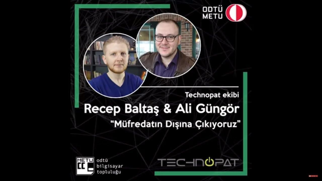 ODTÜ Bilişim Günü 2018 - Technopat Konuşması