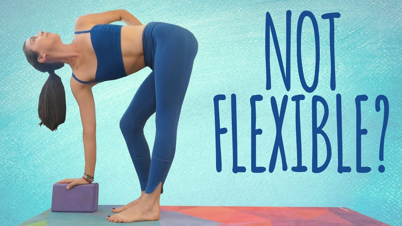 Not Flexible Enough For Yoga Not For Long Improve Flexibility Reduce Back Pain Beginners Class Youtube