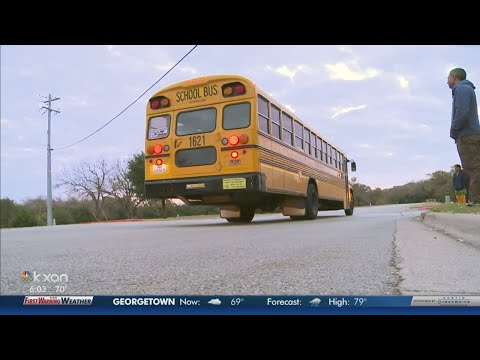Round Rock ISD will text parents when school buses are late