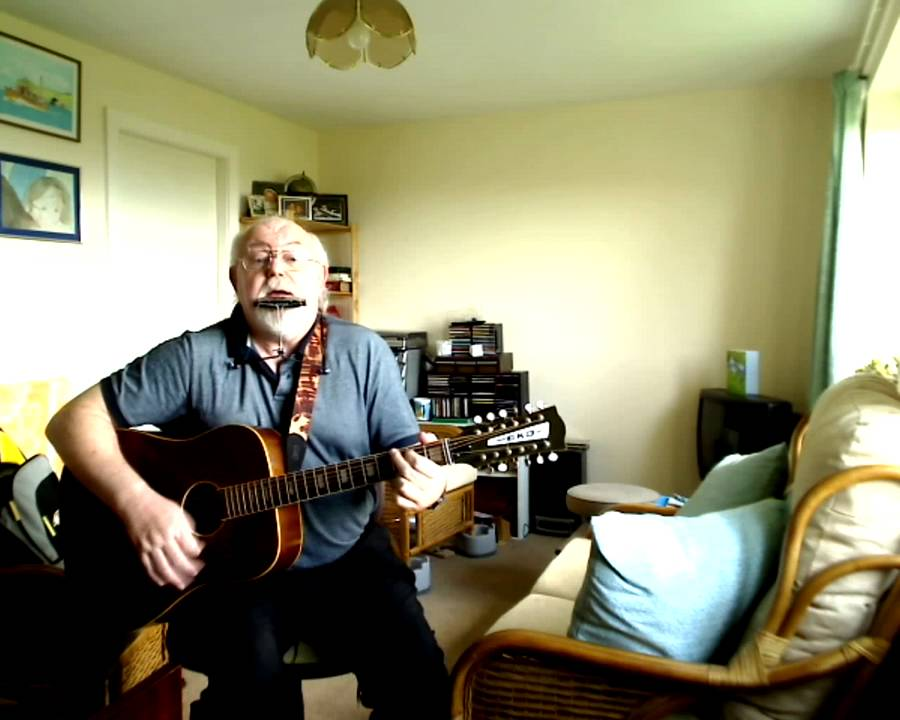 12 String Guitar And Harmonica Galway Girl Including Lyrics And