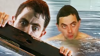 Bean Loses His Swimming Trunks | Funny Clips | Mr Bean Official