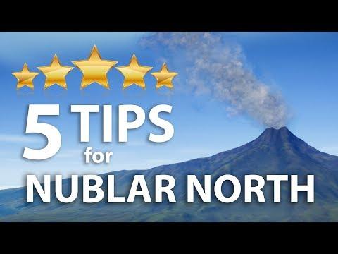 5 TIPS for NUBLAR NORTH | Jurassic World Evolution sandbox |