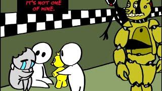 Спрингтрапщина. Часть 5 5 Ночей с Фредди Комикс на русском ФНАФ Комикс