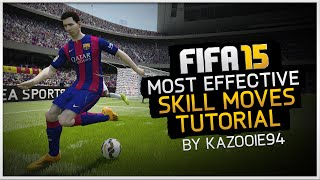 Skills Tutorial: Most Effective Skill Moves | FIFA 15