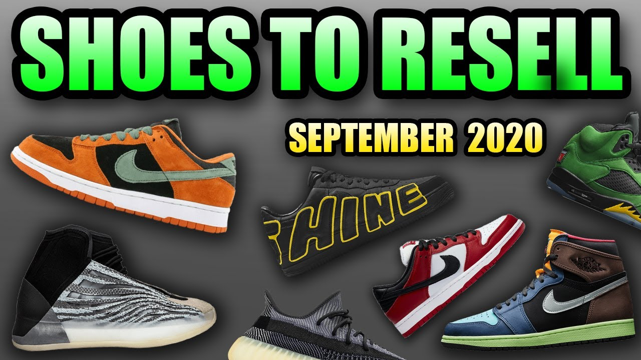 Most HYPED Sneaker Releases SEPTEMBER