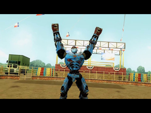 REAL STEEL- WALKTHROUGH (AMBUSH vs BIO WAR & FATBOY, BLOCKBUSTER, SARGE, ROYAL CAMELOT, SCARLETTE)