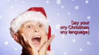 Wish a Merry Christmas in any language