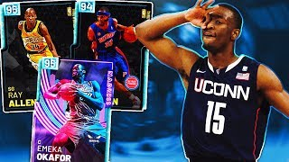 ALL TIME UCONN SQUAD IN NBA 2K19! MARCH MADNESS SQUAD BUILDER!