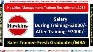 Hawkins Management Trainee (Sales) Recruitment 2019 | Fresh Graduates |