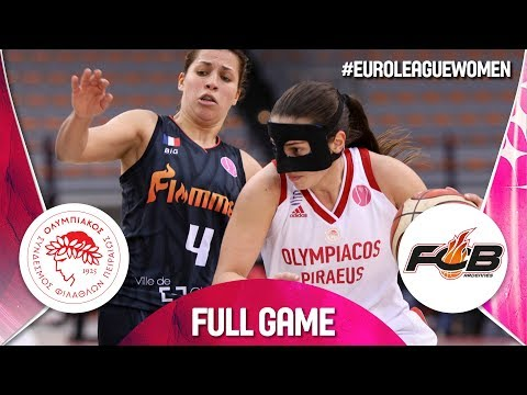 Olympiacos v Carolo Basket - Full Game - EuroLeague Women 2019
