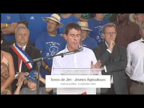 Interview de Manuel Valls aux terres de Jim
