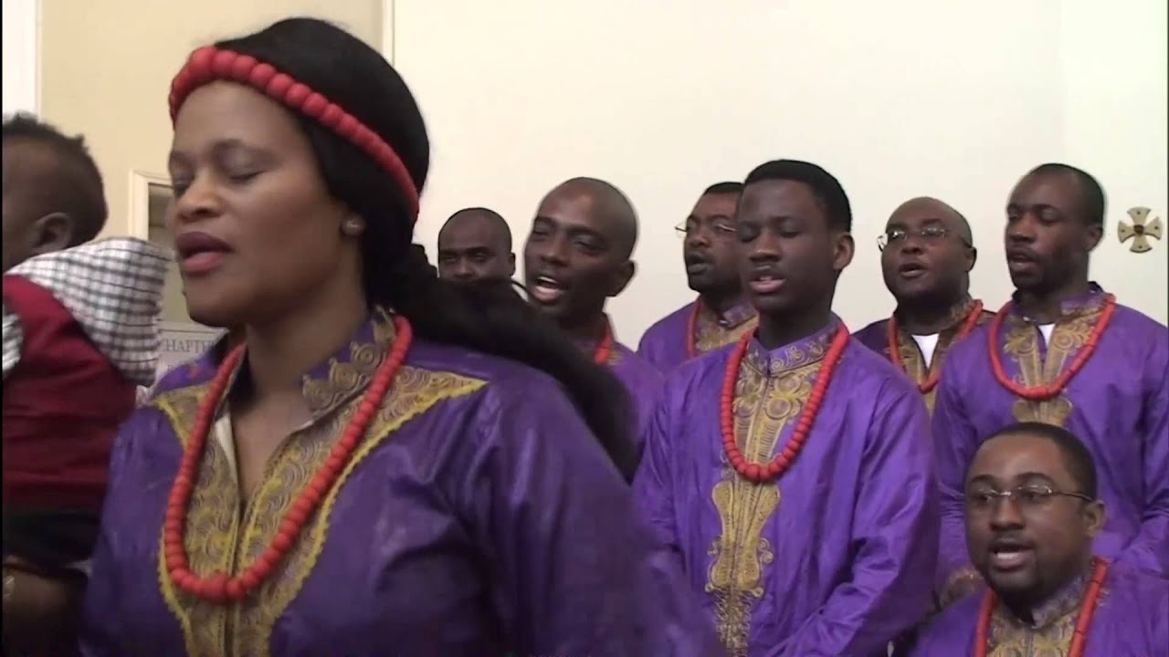 African Choir sing - Lord have Mercy & Gloria
