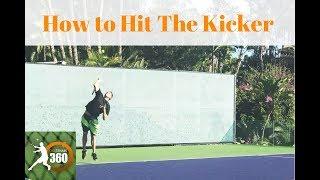 How to Hit A Kick Serve (Step by Step) | Tennis Kick Serve Technique