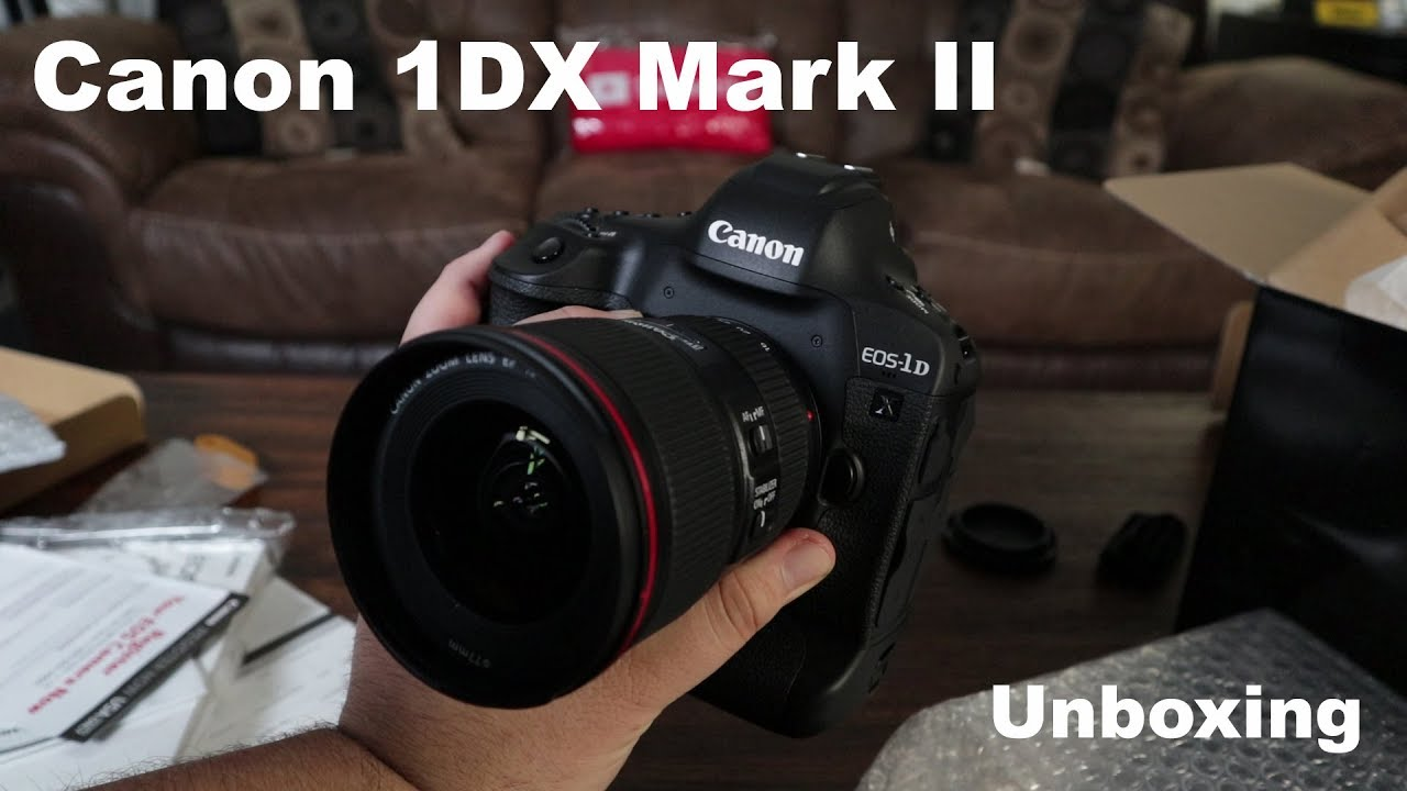 Canon EOS 1Ds Mark II review - YouTube