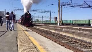 Ретро поезд в Оренбурге 2019