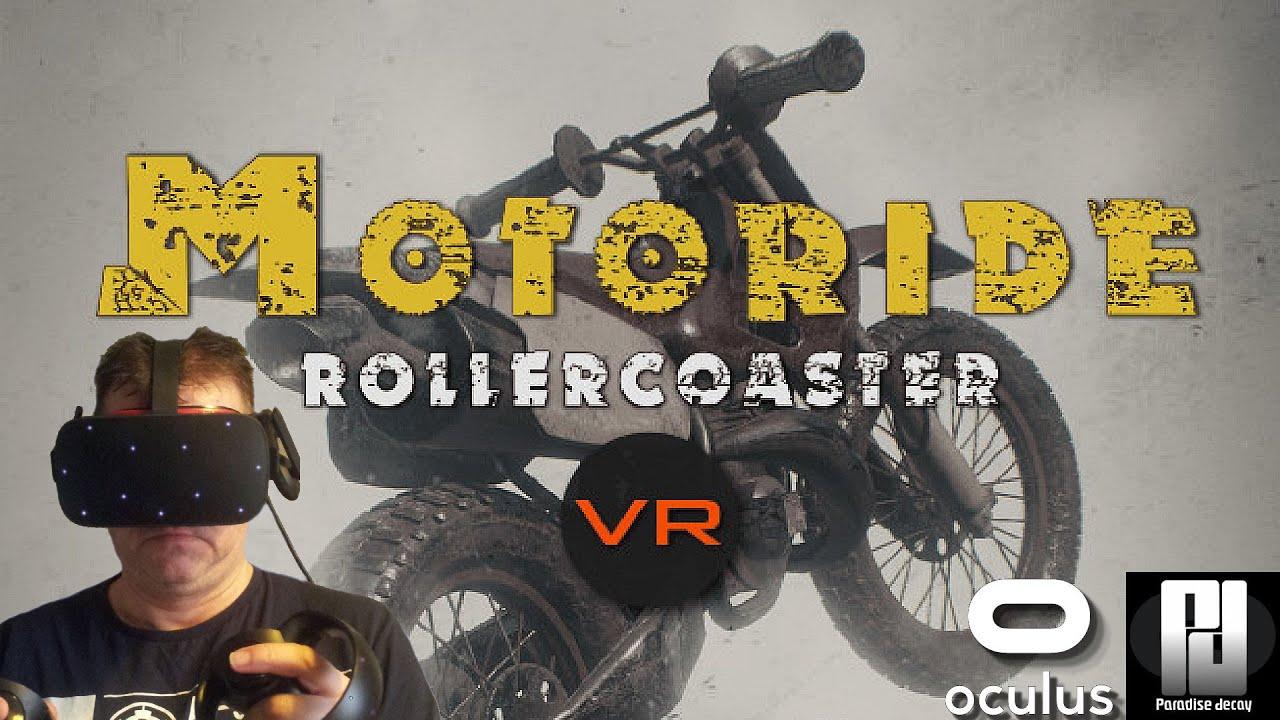 Motoride Rollercoaster VR Impressions // Oculus Rift S // RTX 2070 Super