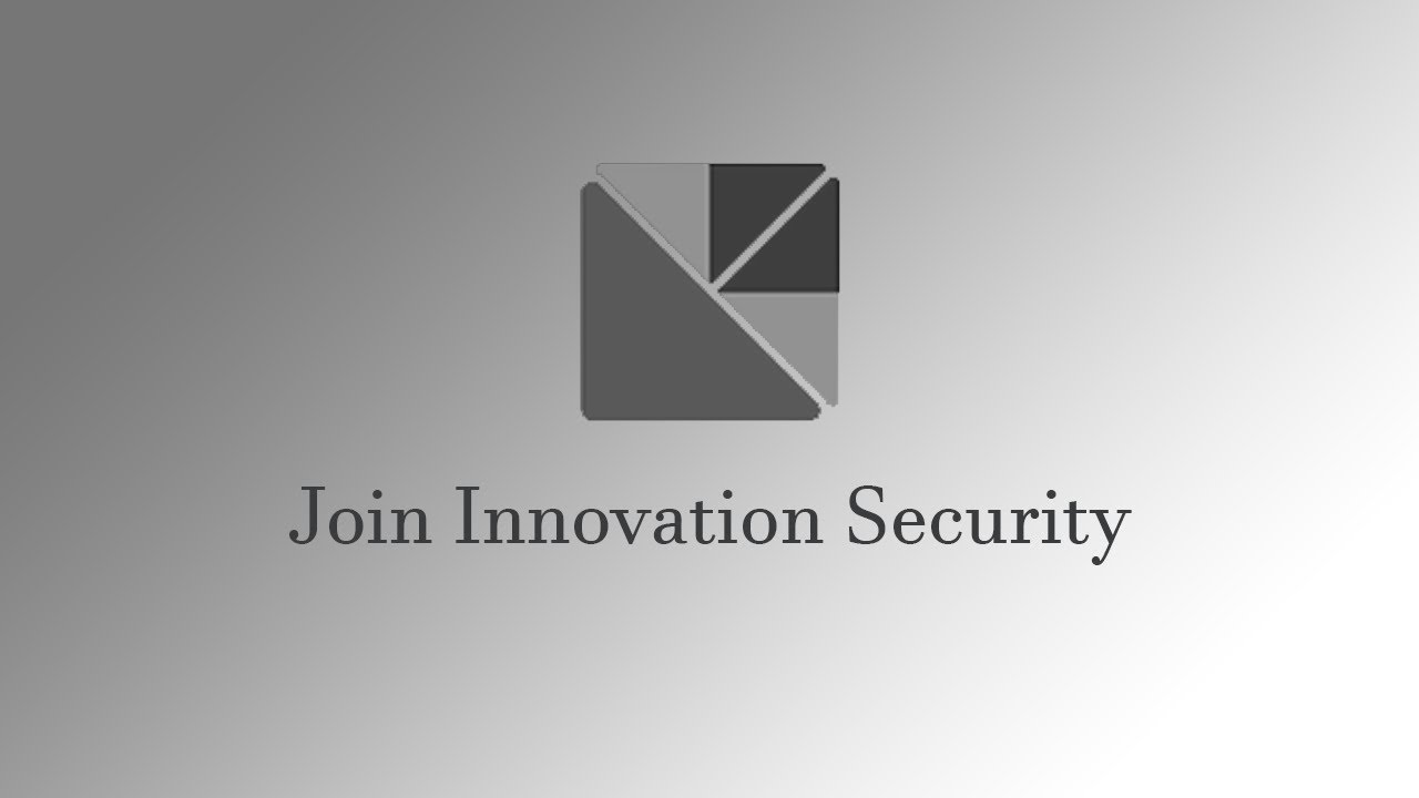 How To Join Innovation Security Youtube