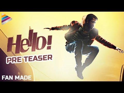 Akhil's HELLO Movie PRE TEASER | Akhil Akkineni | Nagarjuna | #Hello | Fan Made | Telugu Filmnagar