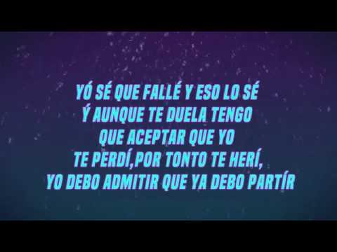 Te Perdí  Elías Ayaviri Letra  Reggaeton Romantico