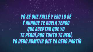 Te Perdí  Elías Ayaviri Letra  Reggaeton Romantico 2015
