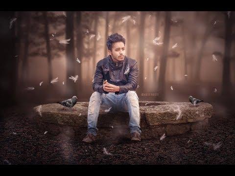 Silent Forest - Photoshop photo manipulation Tutorial