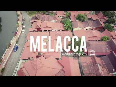 Melacca - The Unesco World heritage city [DJI Mavic Pro]