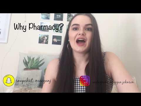 WHY PHARMACY?