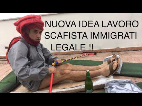 IDEA LAVORO LO SCAFISTA LEGALE DI IMMIGRATI