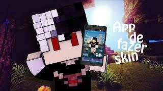 Melhor Aplicativo Para Fazer Skin de Minecraft Pe no Android - Skin Editor Gatucraft for Minecraft -